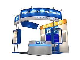 小型机械制造设备制展览模型