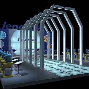 聯想電腦展示展覽模型