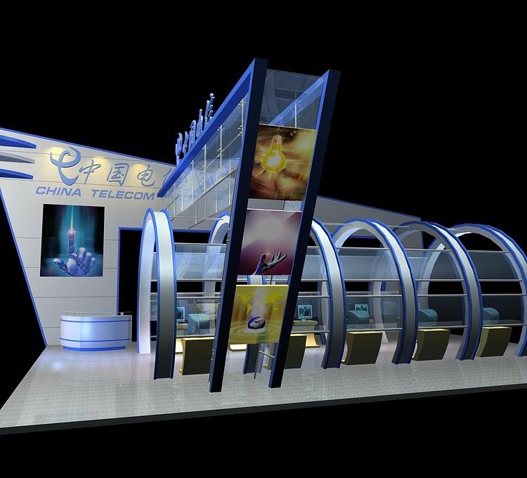 中国电信展示