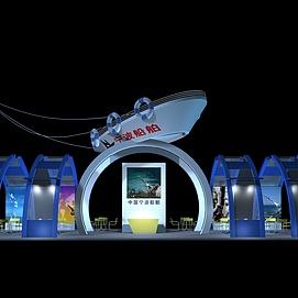 船舶展厅展览模型