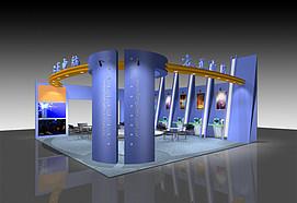 方正电脑展示展览模型