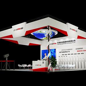 中安科技展覽模型