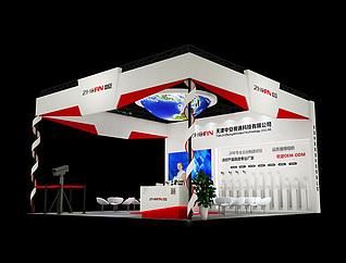 中安科技展览模型