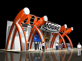 幕尔产品展厅展览模型