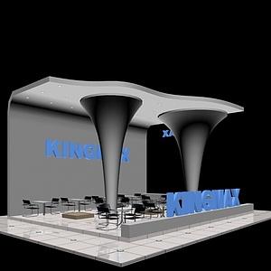 KINGMAX<font class='myIsRed'>电脑</font>硬件展览模型