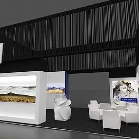 国际珠宝展示展览模型