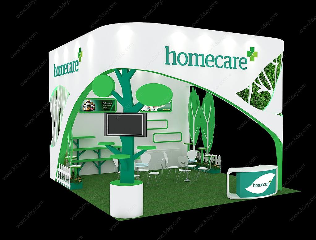 Homecare展台