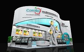 中山美科冷冻设备展览模型