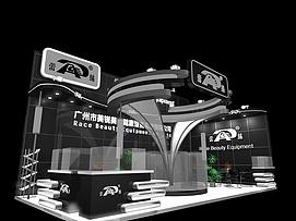 广州美锐美容设备展览模型