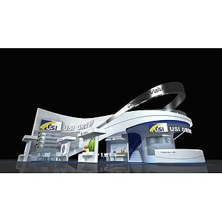 化工展展览模型