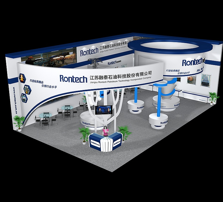 江苏融泰石油科技展览模型