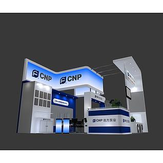 南方泵业展览模型
