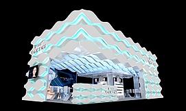 魔力鲜颜展馆展览模型