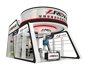 深圳奋达科技展览模型