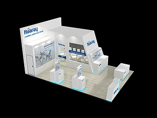 HUARAY展館展覽模型