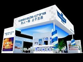 卡斯卡特叉车产品制造展览模型