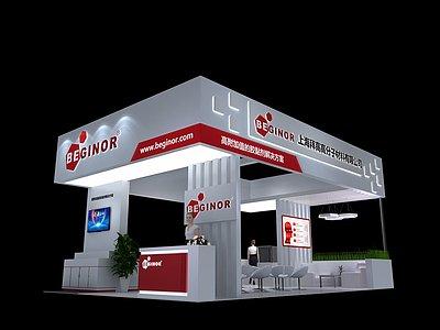 上海拜高高展覽模型