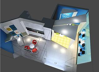 展厅展览模型