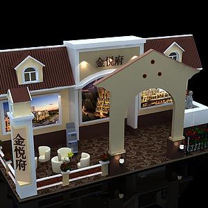 房展展覽模型