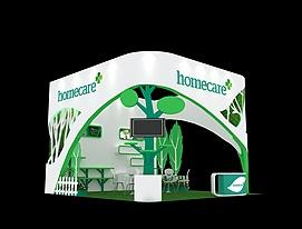 homecare婴幼用品展览模型