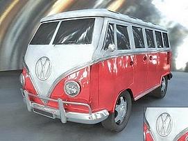 大众汽车展览模型