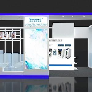 海川展覽模型