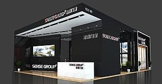 群意门窗展览模型