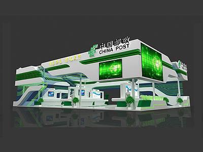 中國郵政展覽模型