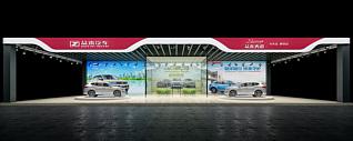 汽车展厅展览模型