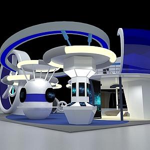 航空科技展3d模型