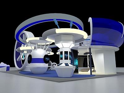 航空科技展展覽模型