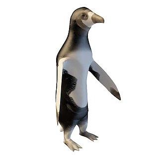 企鹅3d模型