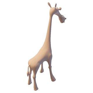 小鹿3d模型