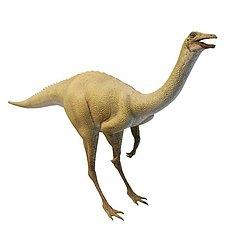 站立恐龙模型3d模型