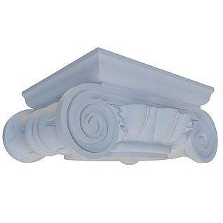 欧式罗马柱头3d模型