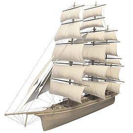 3d<font class='myIsRed'>帆船</font>模型