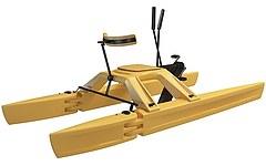 游艇模型3d模型