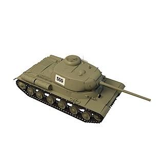 坦克FBX3D模型