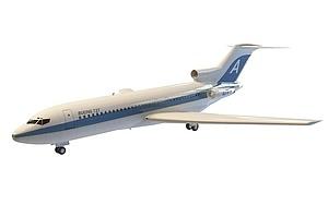 3d客机模型