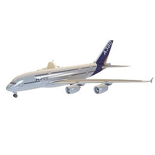 A380客机3d模型
