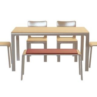 家用<font class='myIsRed'>餐桌</font>椅3d模型