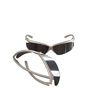 3d墨镜模型