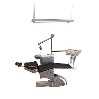 牙椅3d模型