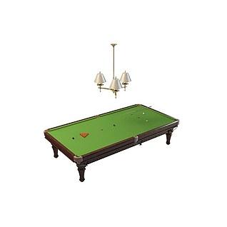台球桌3d模型