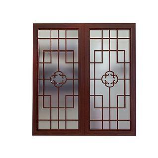 楼花窗3d模型