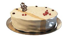 生日<font class='myIsRed'>蛋糕</font>3d模型