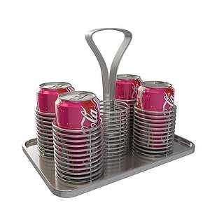 易拉罐可口可乐模型3d模型
