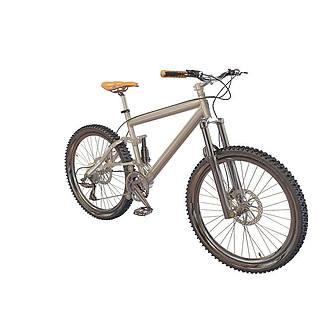 山地自行车3d模型