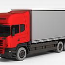 厢式货车模型