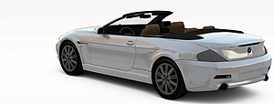 3d宝马跑车模型